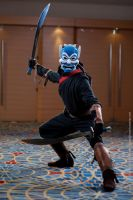 Blue Spirit at DragonCon by gstqfashions