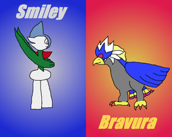 Smiley and Bravura by ReynAnimations
