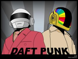 Daft Punk by infazz