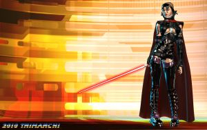 Darth Arana by artguyjoe