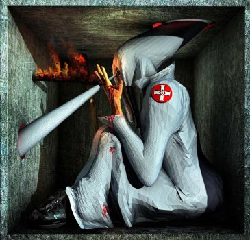 Ecce Homo 99 ' The Klansman' by Polygonist