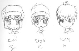 South Park Boys by ocean0413
