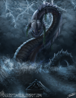 Catching the Leviathan by ForrestImel