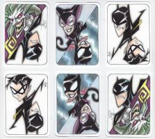 Bats PSC Sketch Cards by ChadTHX1138