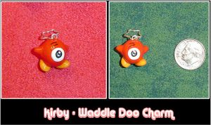 Kirby - Waddle Doo Charm by YellerCrakka