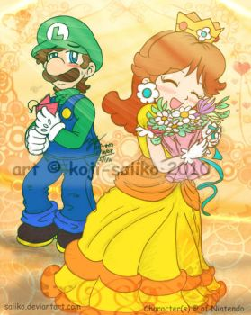 Mario: Secret Admirer by saiiko