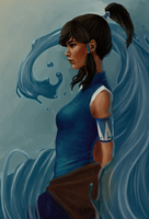 The Legend of Korra by Edhelnis