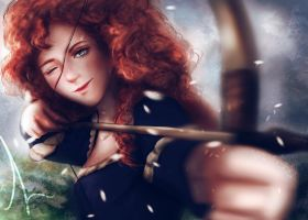 Merida by LahArts