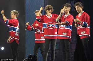 One Direction in Bell Center by Namine24