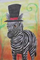 Mr. Zebra by Haukkahalla