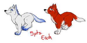 Wolf Adopts by Asenath-Nightroad