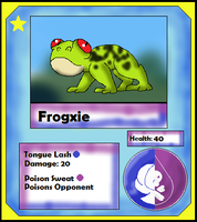 Frogxie Card (Adopt) by Dianamond