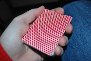 Bee Red - Playing Cards by cal3star