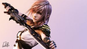 Lightning Farron: Goddess on the Battlefield by LoneWolf117