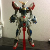 Burning Burning Gundam by kmopotato