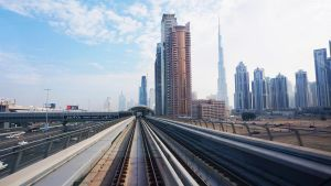 View from the Metro by praveen3d