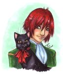 Nat and Cat by omegasama