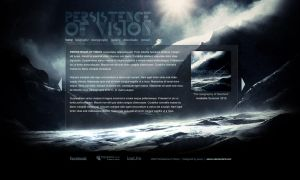 Persistence Of Vision Website by axxon