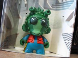 greedo custom munny by laz69frog