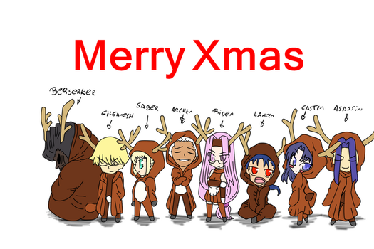 Merry xmas by anypanfupucca