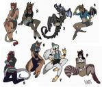 All Adoptables Copy by Inkfang