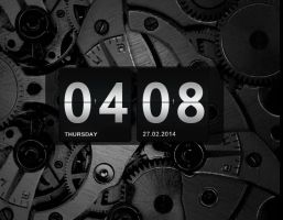 Classic Clock for xwidget by jimking