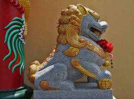 Chinese Guardian Lion by David-Will