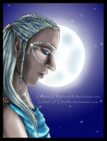 Spirit of the Moon - colours by Cherille
