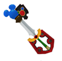 Dream Gear Keyblade by casterskeeper