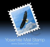 Yosemite Mail Stamp by ScreenCritters