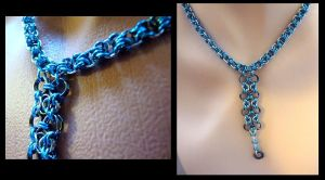 Blue Bydand Necklace by Divulged