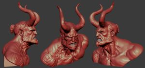 Hellboy 2013 by mojette