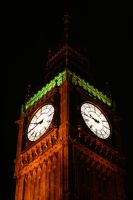 Big Ben at night by Bl4ckM4ch1n3
