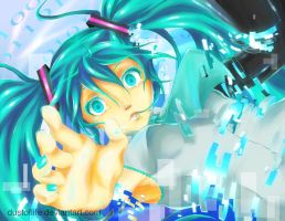 Disappearance of Hatsune Miku by dustoflife