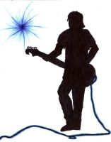 guitar silhoutte by Save-Me-From-Me