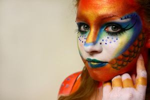 Gold Fish 3 by Pulse-Hair-Makeup