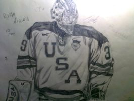 NHL - Ryan Miller by dominak1