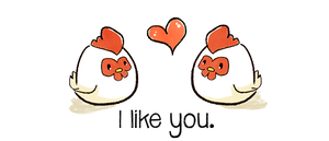 I like u as my Harvest Moon Chickens by malejoveza