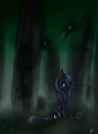 I Am Not Scared Of You Beasts by Nos-talgia