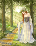 Lady of the Forest by MoontoeFairy