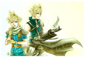 FF7: my fav Clouds by DarkLitria