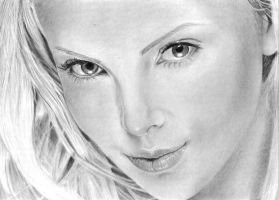 Charlize Theron by FlyGirlPml
