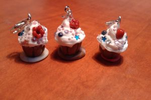 Muffins charms by ShirNek0