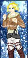 Art Trade: Annie Leonhart  for Sjokotof by Suekitty