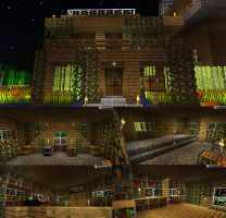 My Little Cute Minecraft House by Kium