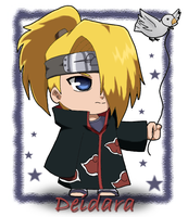 Naruto: Chibi Deidara by The-PirateQueen