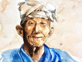 Portrait of Old Man by young920