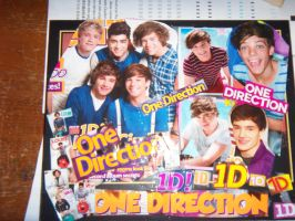 1D Decoupage collage by iluvlouis