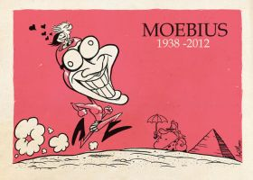 Moebius Tribute by PacoAfroMonkey