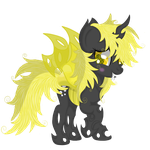 Derpy ( changeling vision) by Law44444